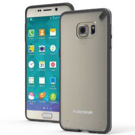 Puregear Samsung Galaxy S6 Edge Plus Slim Shell - Clear & Blue