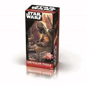 Star Wars Episode 7 Lenticular Tower Puzzle