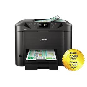 Canon MAXIFY MB5440 Multifunction Inkjet Wireless Printer - Black