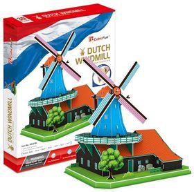 Cubic Fun Dutch Windmill Holland - 71 Piece