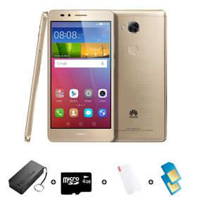 Huawei GR5 16GB LTE Gold - Bundle 2 incl. R1500 Airtime + 1.2GB Starter Pack + Power Bank + SD Card + Screen Protector