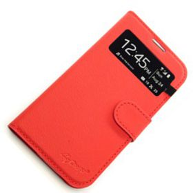 Scoop Easyview Folio For Samsung S4 - Red