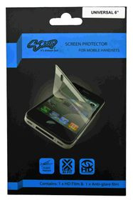 Scoop Screen Protector for Universal 3PC Up To 6 Inch (For Smart Phones)