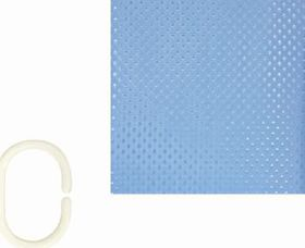 The Bathroom Shop - Shower Curtain - Blue Diamond