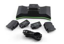 Ipega PG-X001 2 X 700mah Dual Controller Chargerwith Battery Pack For XBOX ONE - Black