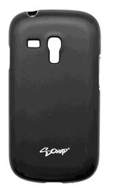 Scoop Progel Samsung S3 Mini Case with Screen Protector - Black