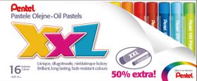 Pentel 16 XXL Oil Pastels Set