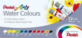 Pentel 12 Water Colour Tubes Set