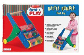 Melissa and Doug Rattle Rumble Push Toy