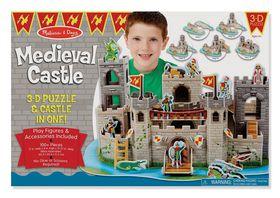 Melissa and Doug Medieval Castle 3D Puzzle