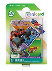 LeapFrog Learning Software: Imagicards Blaze and the Monster Machines