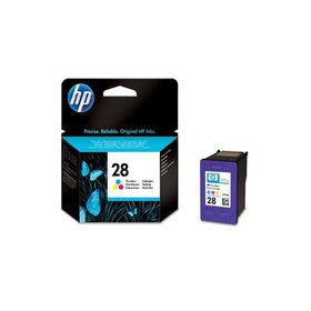 HP 28 Tri-Colour Inkjet Print Cartridge