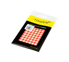 Tower C10 Colour Code Labels (Sheets) - Red