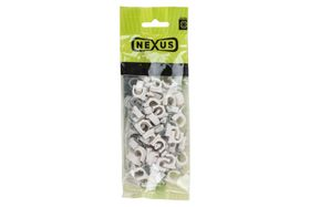 Nexus - Saddle Cable Round 12mm - 100 Piece