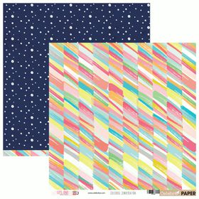 Celebr8 Let's Chat Double Sided Paper - Colourful Conversation (10 Sheets)