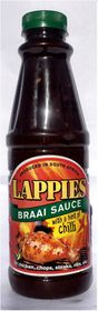 Lappies Braai Sauce - with a Hint of Chilli - 500ml