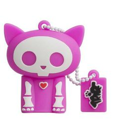Skelianimals Kit The Cat Glow In The Dark - 8GB