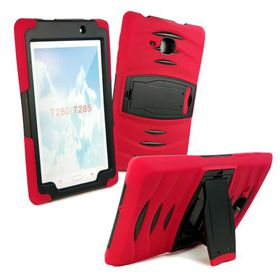 Tuff-Luv Survivor Tough Case for the Samsung Tab A 7.0 (Model T285) - Red