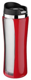 Isosteel - 400ml Mug With Screw Top - Red