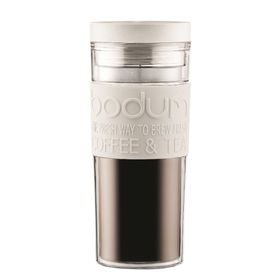 Bodum - 450ml Travel Mug - Off White