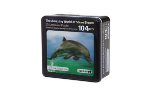The Purple Cow Bottlenose Dolphin 3D Puzzle