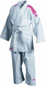 Adidas Judo GI with Pink Stripes without Belt