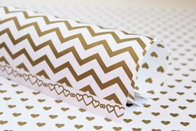 Lady Pattern Paper Basic Essentials Sweetheart - Egyptian Gold [Limited Edition] (10 Sheets)