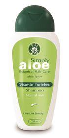 Simply Aloe Vitamin Enriched Shampoo - 250ml