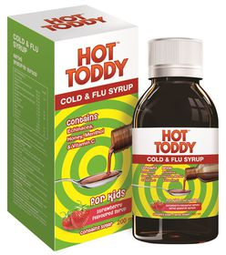 Hot Toddy Kids Cold & Flu Syrup