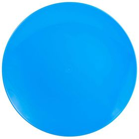 Lumo - Lotus Dinner Plate - Cyan Blue