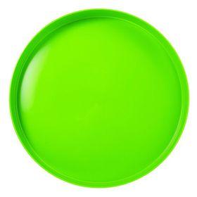 Lumoss - Plastic Round Tray 35cm - Neon Green