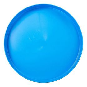 Lumo - Plastic Round Tray 35cm - Cyan