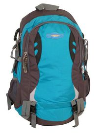 Tosca Sport Hiking Framed Backpack 32 Litres - Grey And Blue