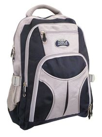 Tosca Large Boys/Girls Backpack - Navy/Grey