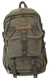 Tosca 22 Litres Large Canvas Backpack - Green