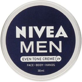 Nivea Men Even Tone Face Cream Tin - 30ml