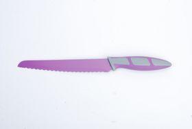 Kitchen Dao - RV2234 8 Inch Non-Stick Bread Knife - Purple
