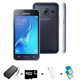 Samsung GALAXY J1 Mini DS 2016 8GB LTE Black - Bundle with R1500 Airtime + 1.2GB Starter Pack + Accessories