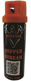 Ram Defense - Pepper Stream - 60ml - Black & Orange