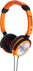 Idance Black and Orange Headphone