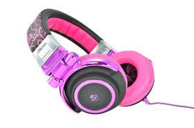 Idance Black and Purple Headphone