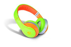 Idance Green and Orange Over Ear Headphone