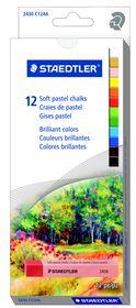 Staedtler 12 Soft Pastel Chalks