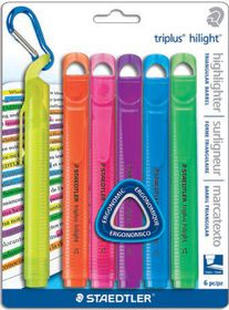 Staedtler Triplus Highlighters - Blister of 6