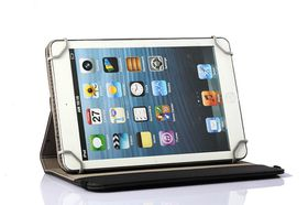 "Tuff-Luv 7"" Universal Rotating Tablet Case - Black"