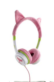 ZAGG Little Rockerz Costume Headphones - Hot Pink Kitten