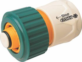 Raco - Hose Water Stop Connector 3/4 Three Jaw Grip