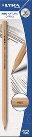 Lyra Pro Natura Office HB Graphite Pencils - Box of 12
