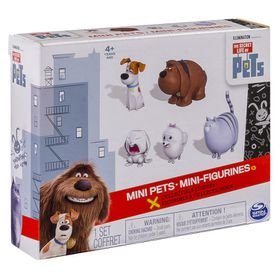 Secret Life Of Pets Mini Pets 5 Pack Bundle