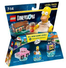 Lego Dimensions 1: Level: The Simpsons Homer